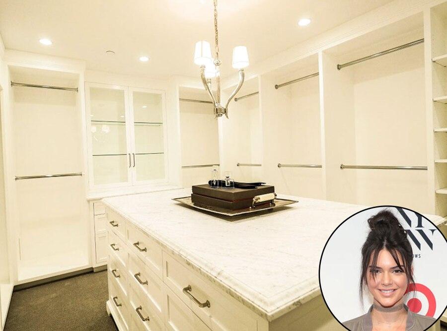 Kendall Jenner, Real Estate, Closet