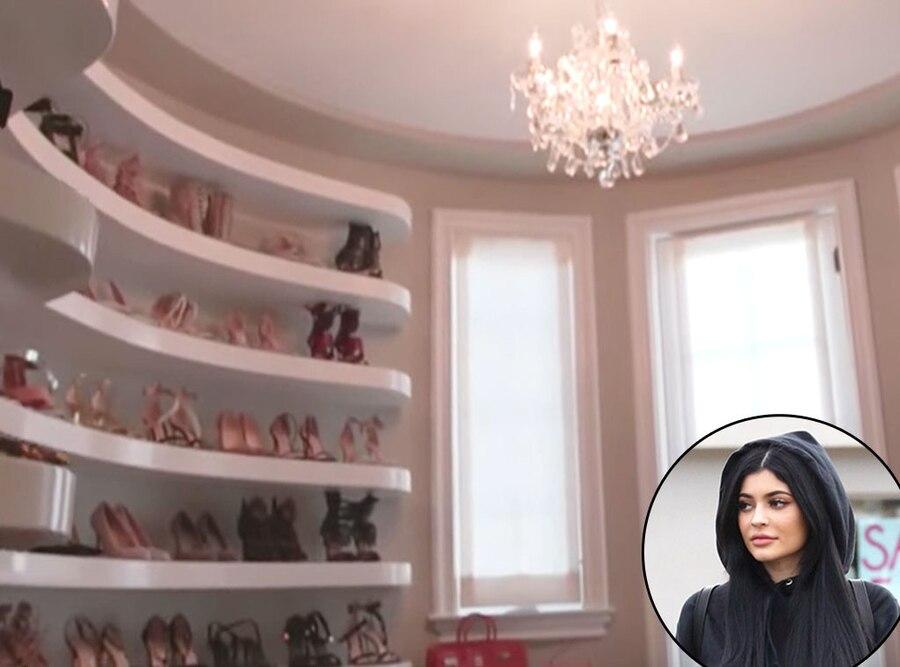 Kylie Jenner, Real Estate, Closet