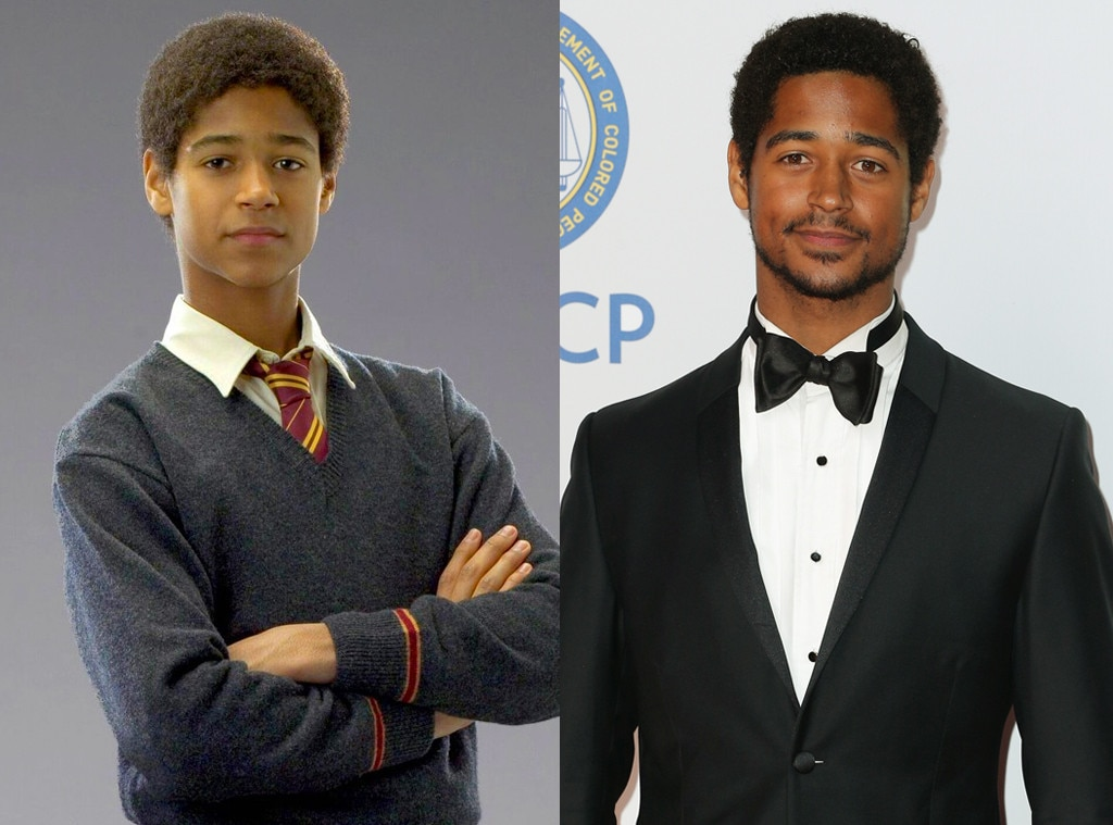 Then and Now, Alfred Enoch