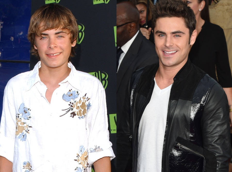 Then and Now, Zac Efron