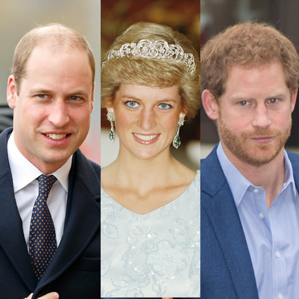 Prince William, Duke of Cambridge , Princess Diana , Prince Harry