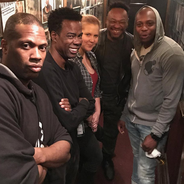 Amy Schumer, Chris Rock, Dave Chappelle