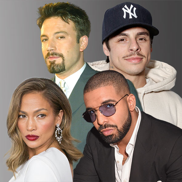 Jennifer Lopez, Drake, Casper Smart, Ben Affleck