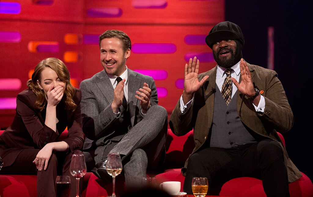Emma Stone, Ryan Gosling, Graham Norton Show
