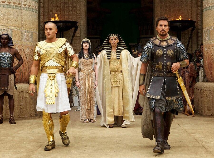 Exodus: Gods and Kings, Joel Edgerton, Sigourney Weaver, Christian Bale