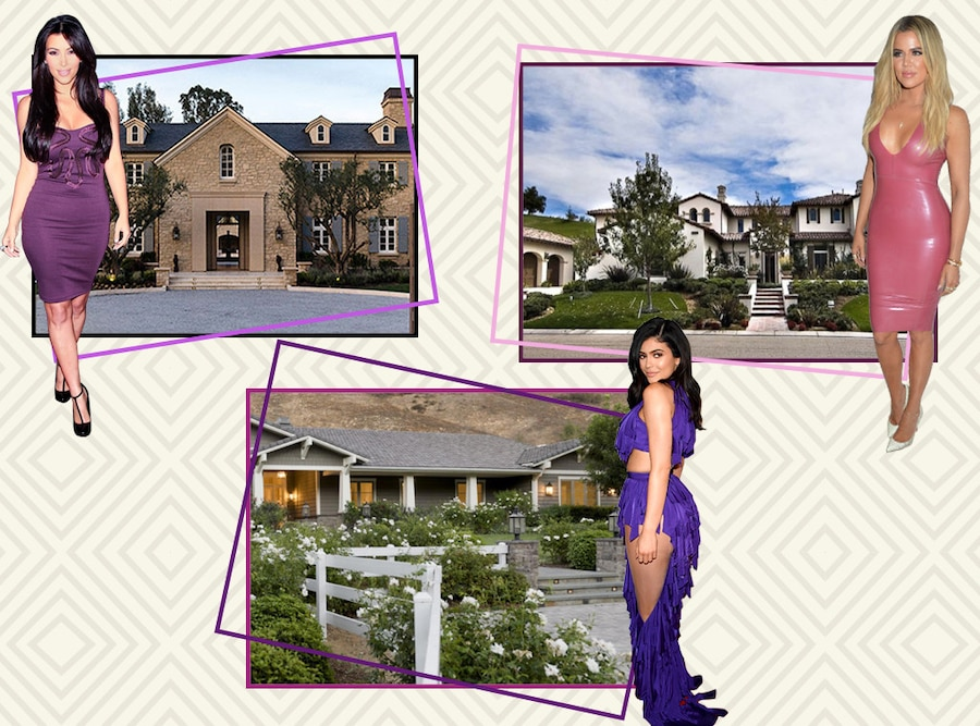 Kim Kardashian, Khloe Kardashian, Kylie Jenner, Real Estate