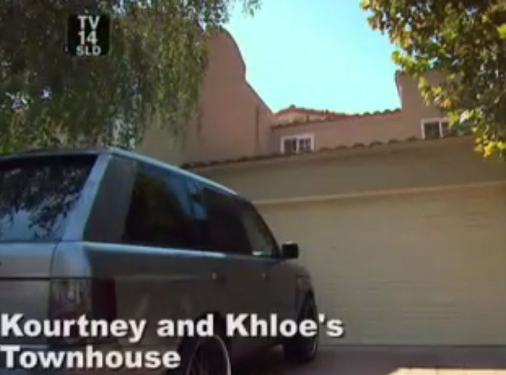 Kardashian Real Estate, Khloe & Kourtney Townhouse