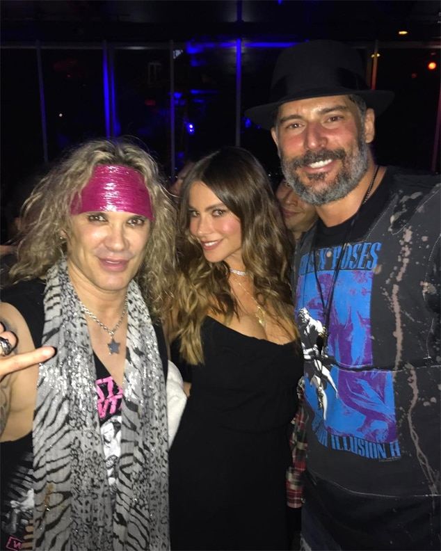 Michael Starr, Steel Panther, Sofia Vergara, Joe Manganiello
