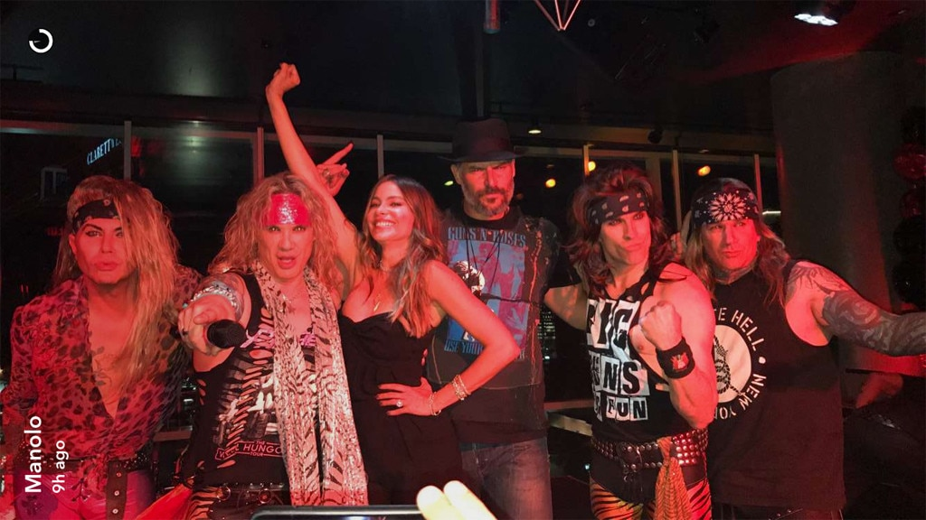 Steel Panther, Sofia Vergara, Joe Manganiello