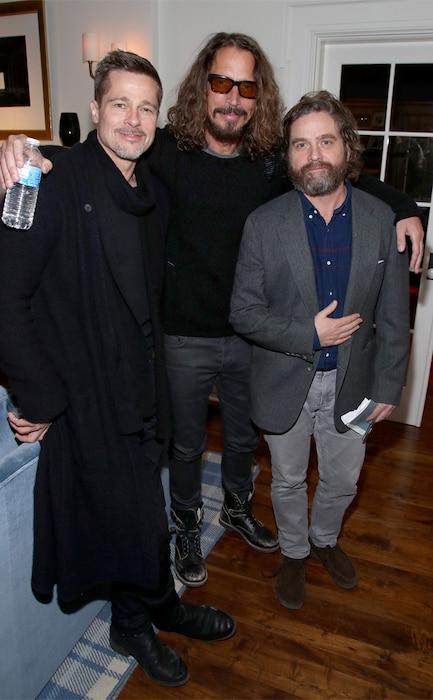 Brad Pitt, Chris Cornell, Zach Galifianakis