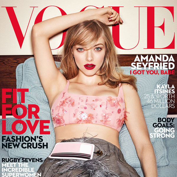 Amanda Seyfried, Vogue Australia, Dupe