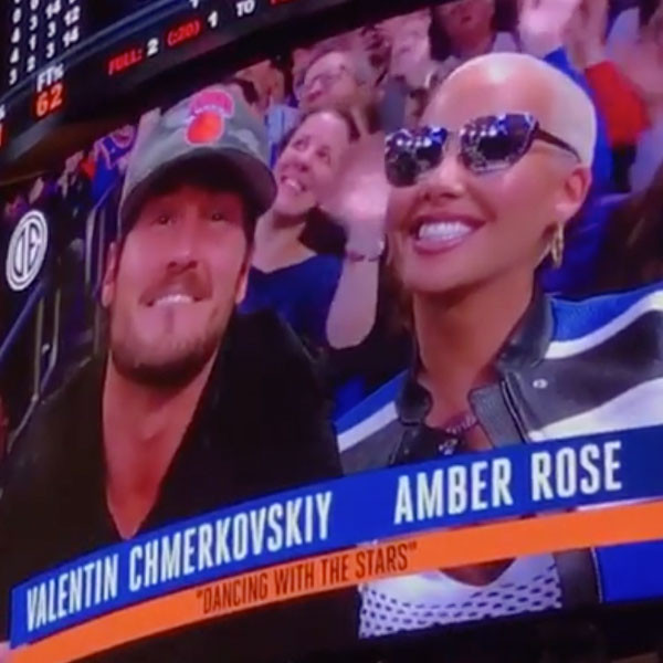 Val Chmerkovskiy, Amber Rose
