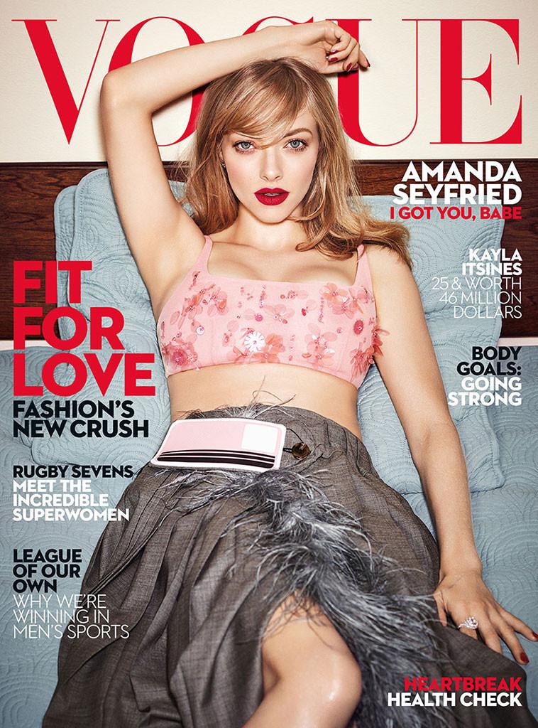 Amanda Seyfried, Vogue Australia