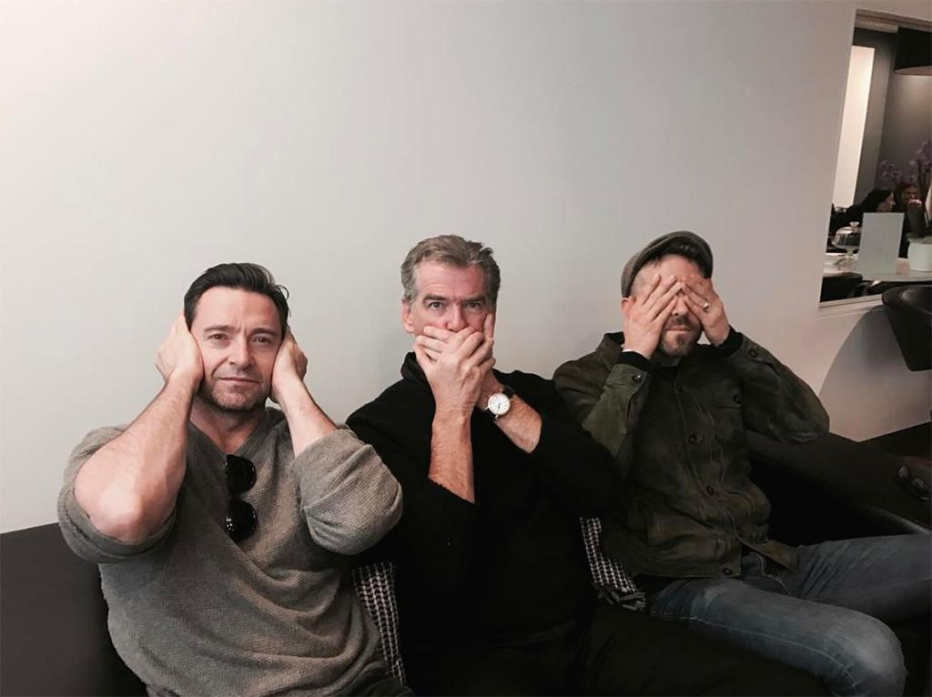 Hugh Jackman, Pierce Brosnan, Ryan Reynolds