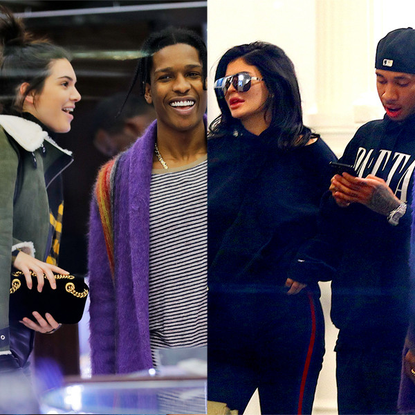 Kendall Jenner, A$AP Rocky, Kylie Jenner, Tyga