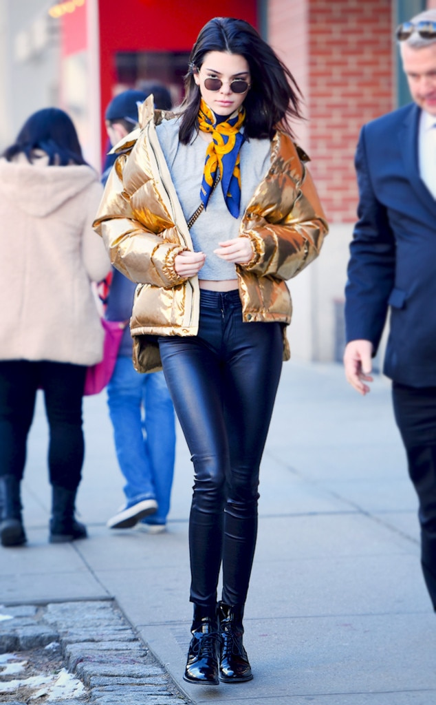 Puffer Jackets: How To Style Your Down Coat Like Kendall Jenner