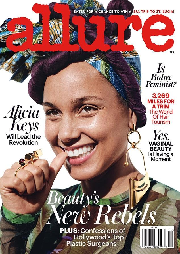 Alicia Keys, Allure Magazine