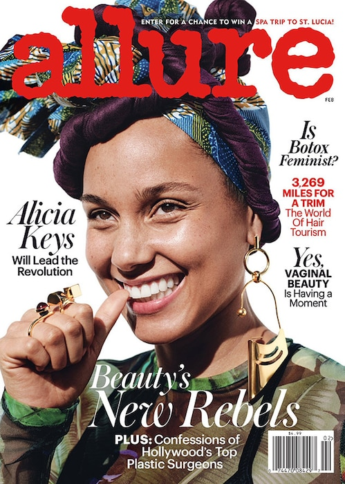 Alicia Keys, Allure Magazine