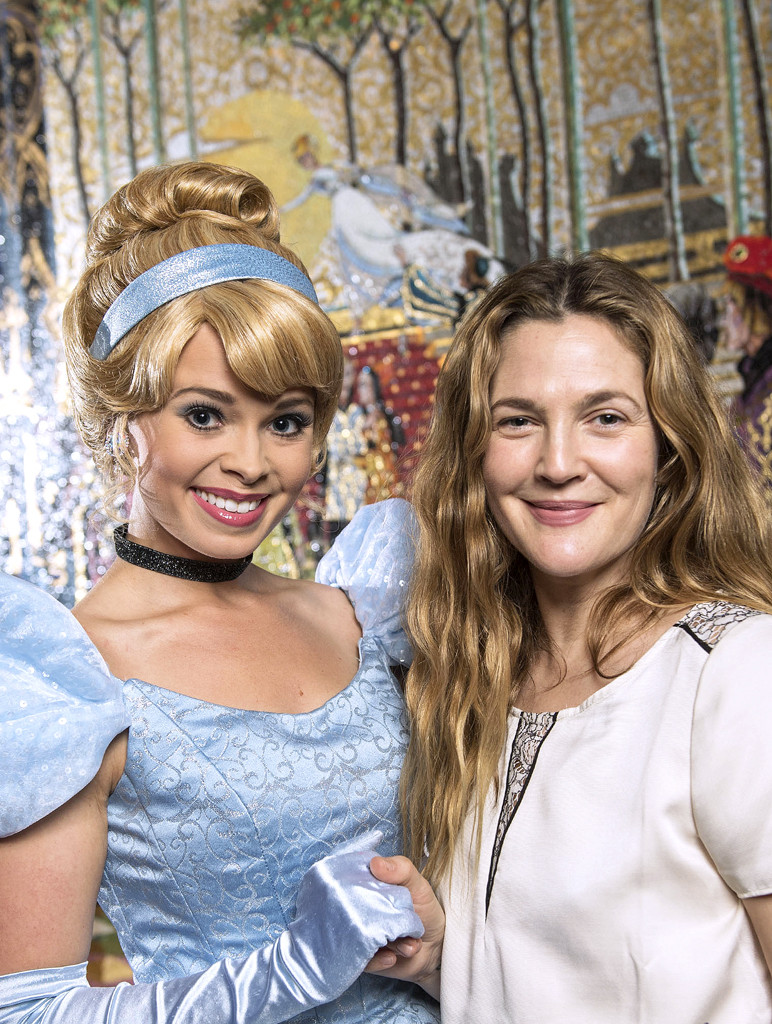 Drew Barrymore, Disney