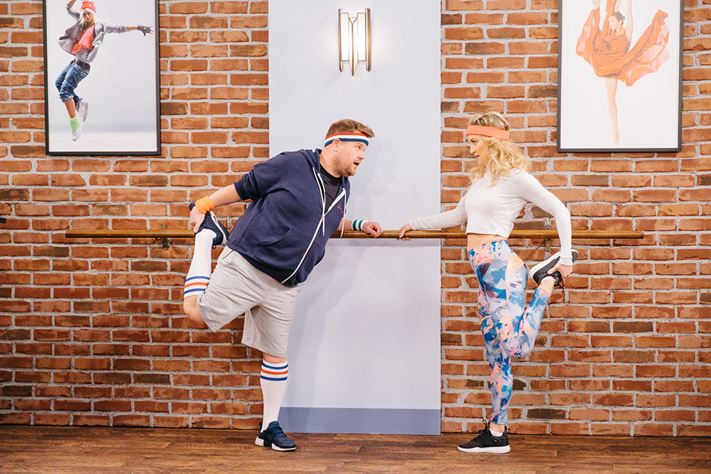 Kate Hudson, James Corden, The Late Late Show