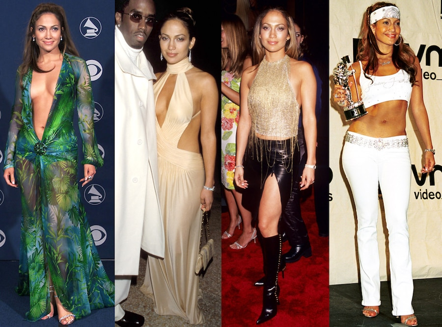 Jennifer Lopez, Sean Combs, Diddy, Style Evolution