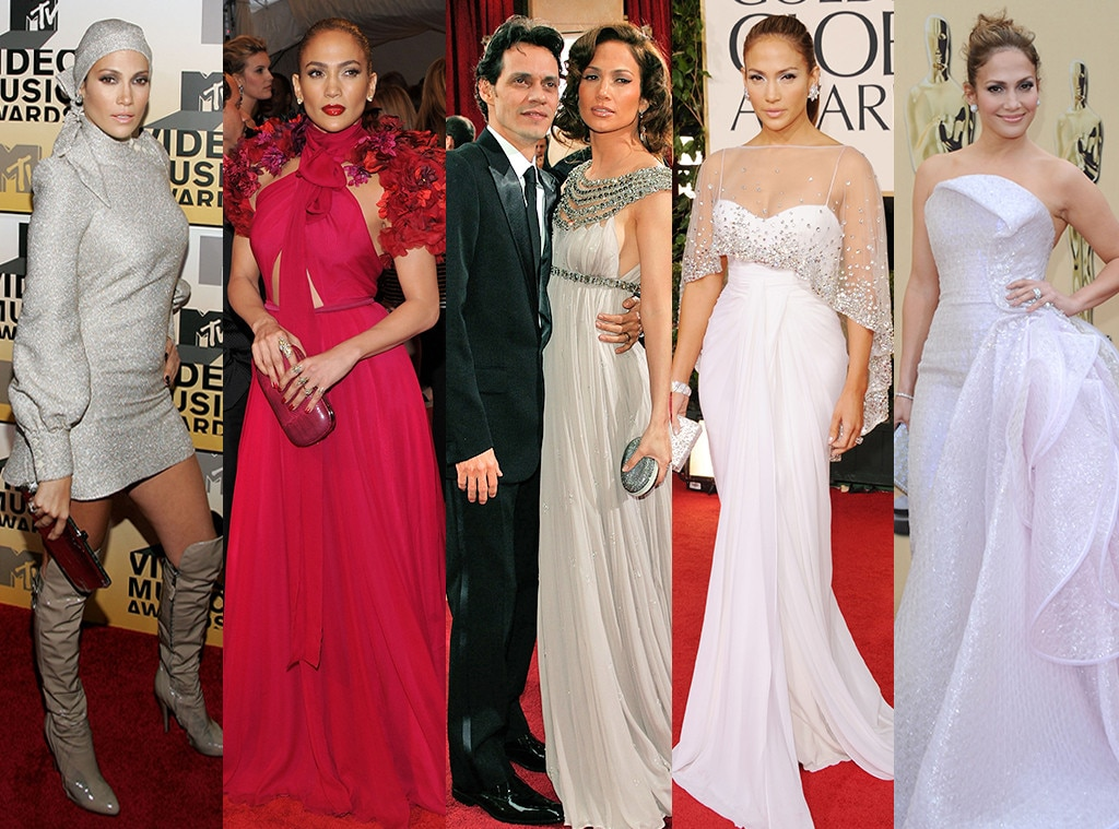 Jennifer Lopez, Marc Anthony, Style Evolution