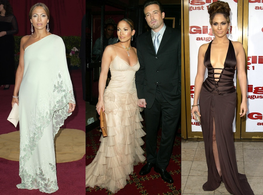 Jennifer Lopez, Ben Affleck, Style Evolution
