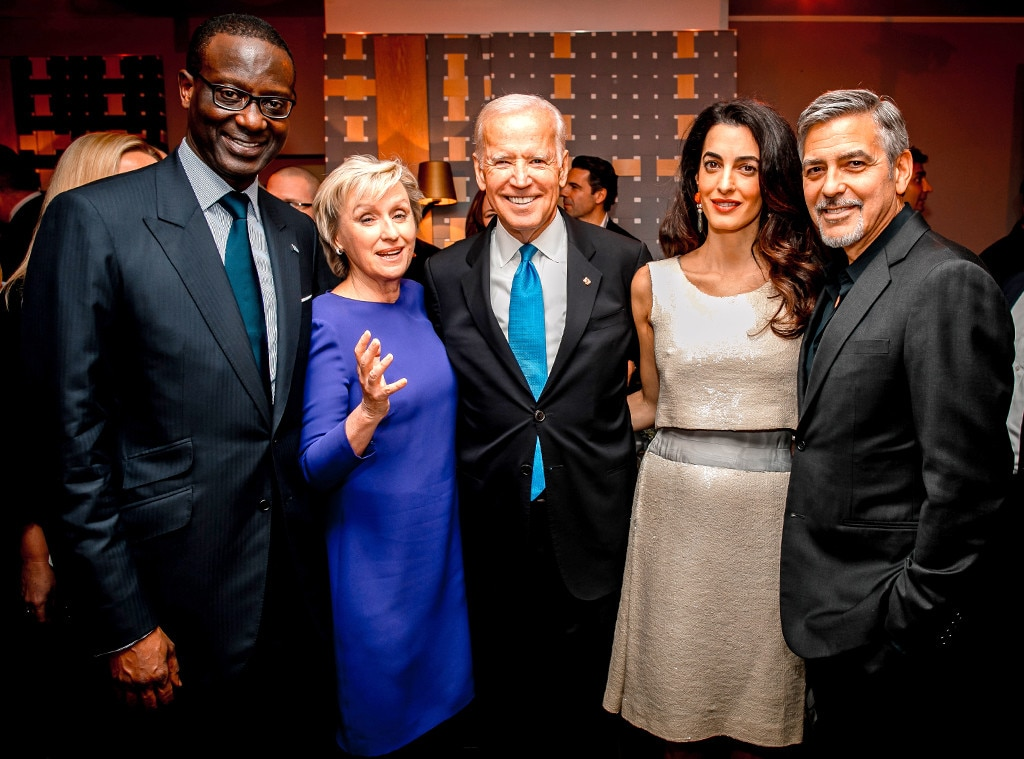 Tidjane Thiam, Tina Brown, Joe Biden, George Clooney, Amal Clooney