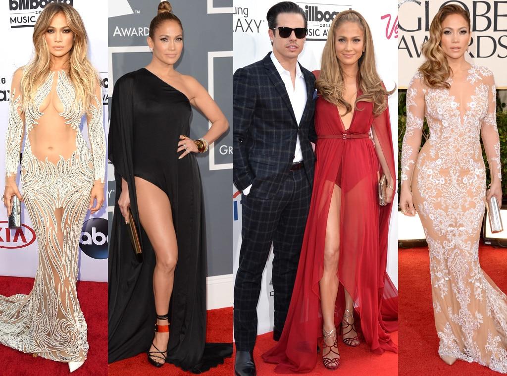 Jennifer Lopez, Casper Smart, Style Evolution