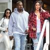 Kanye West, Kim Kardashian, Kourtney Kardashain