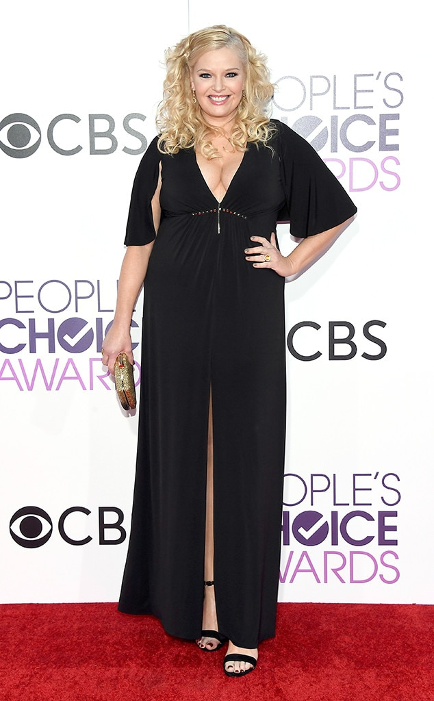 melissa peterman from peoples choice awards 2017 red