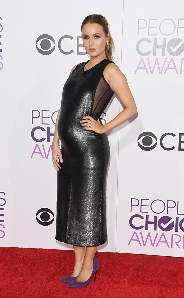 Camilla Luddington, 2017 People's Choice Awards