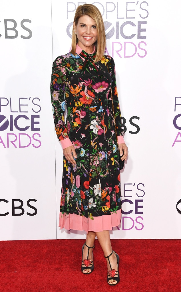 Lori Loughlin, 2017 Peoples Choice Awards