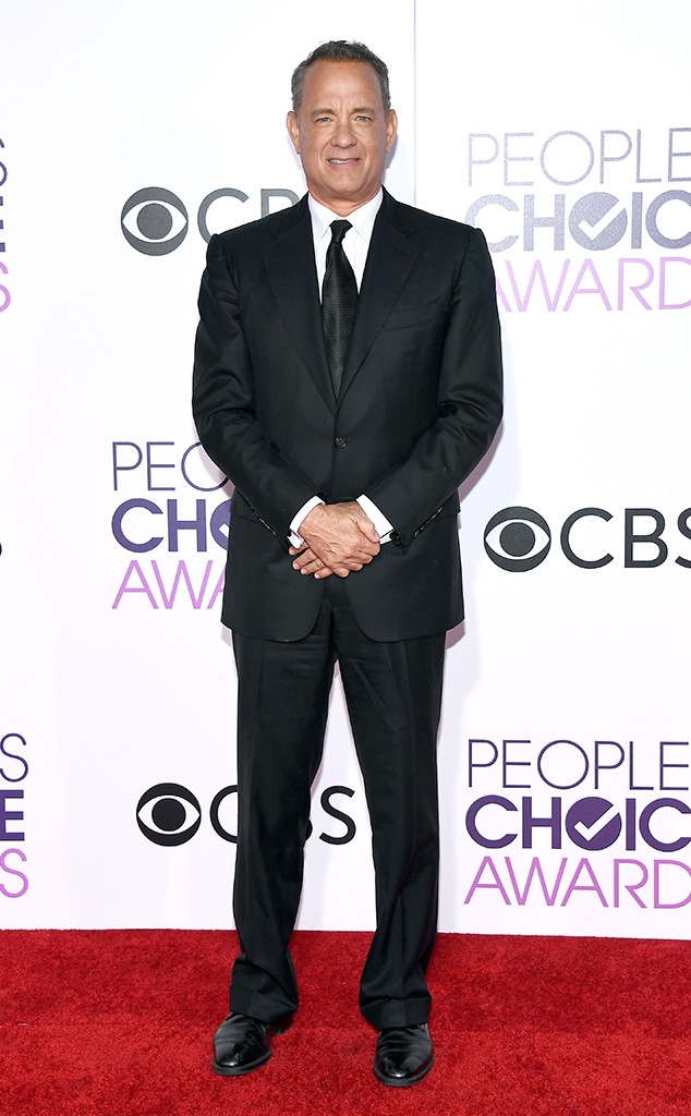 Tom Hanks, 2017 Peoples Choice Awards