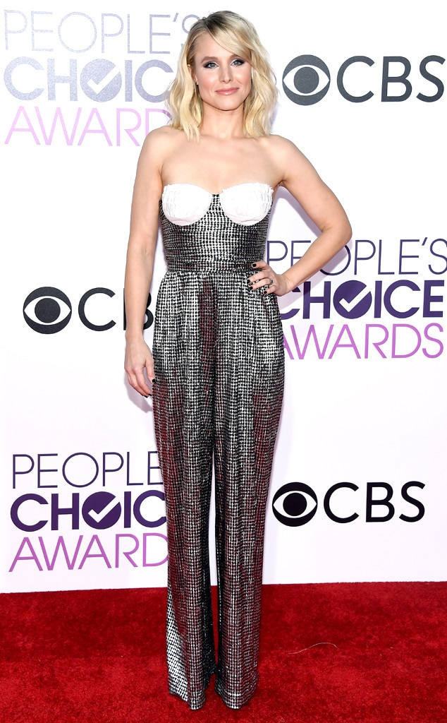 Kristen Bell, 2017 People's Choice Awards