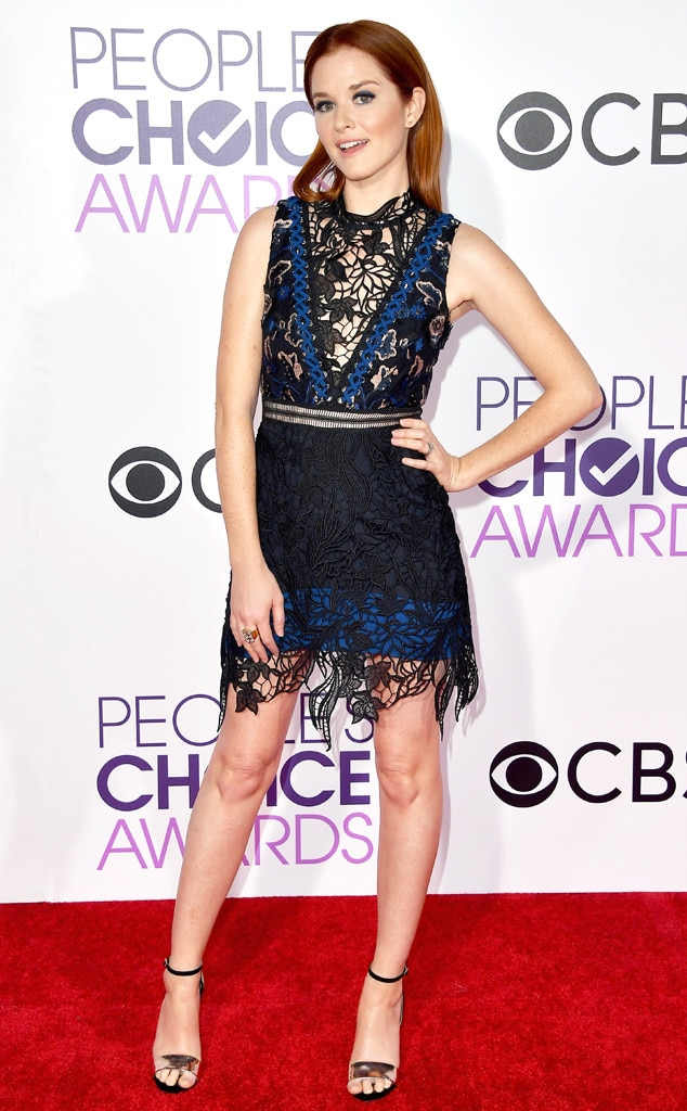 Sarah Drew, 2017 People's Choice Awards