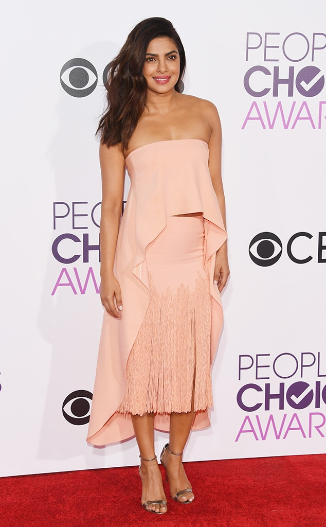 Priyanka Chopra, 2017 People's Choice Awards