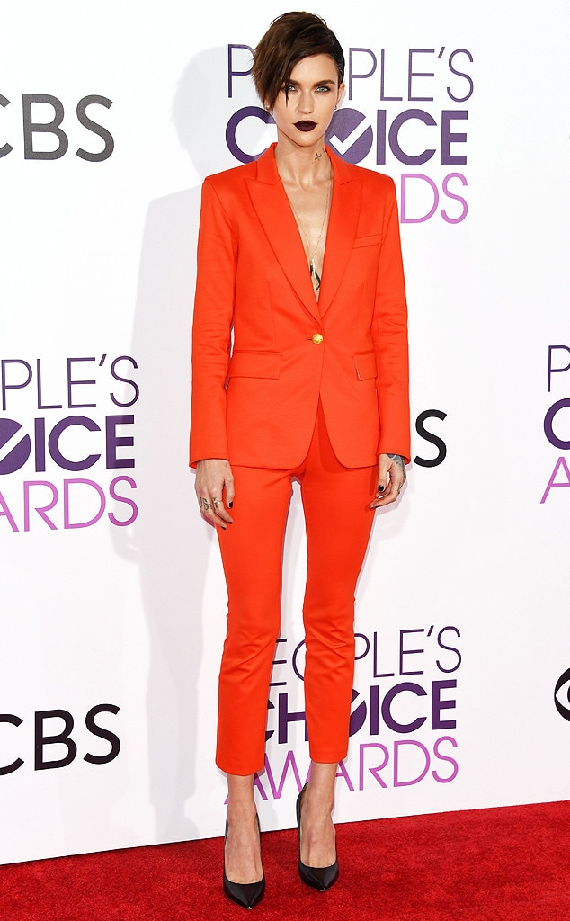 Ruby Rose, 2017 People's Choice Awards