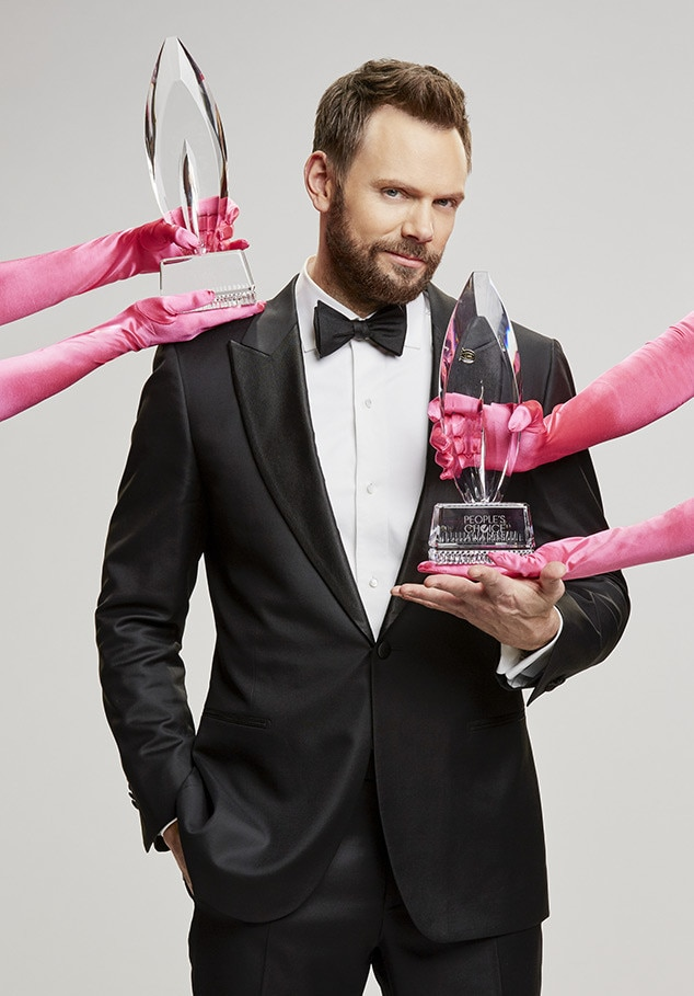 Joel McHale, 2017 People's Choice Awards