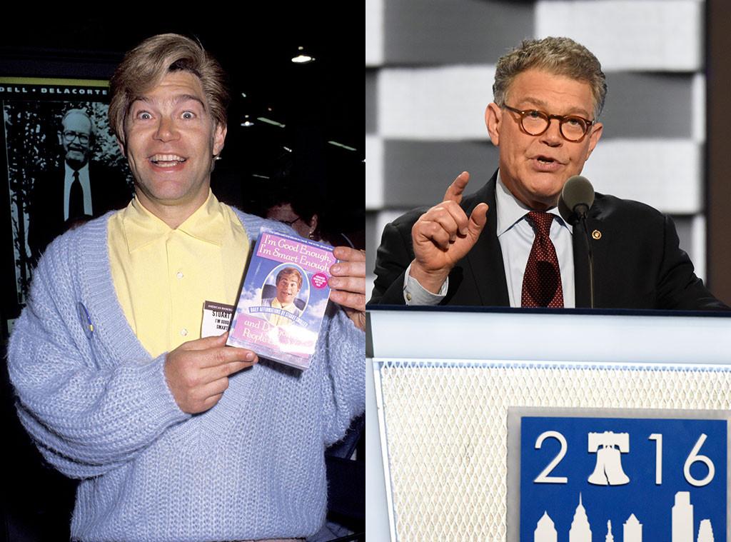Al Franken, Celebrities Turned Politicians