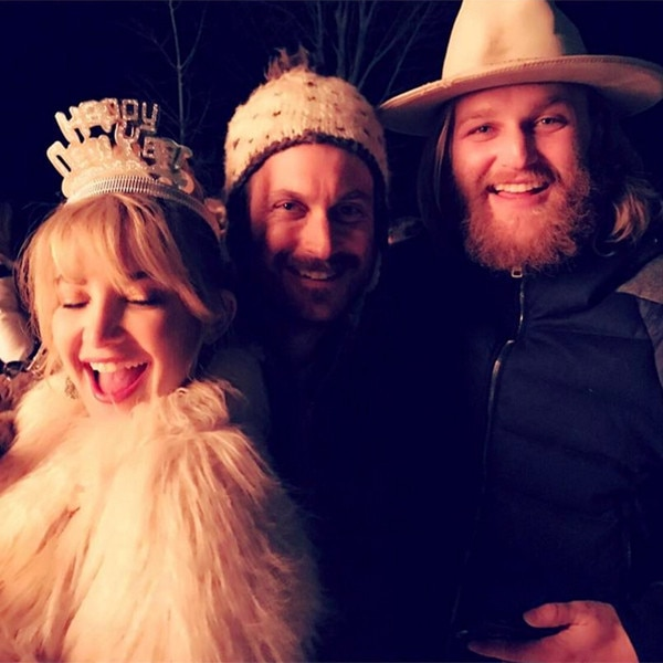 Kate Hudson, Wyatt Hudson, Oliver Hudson