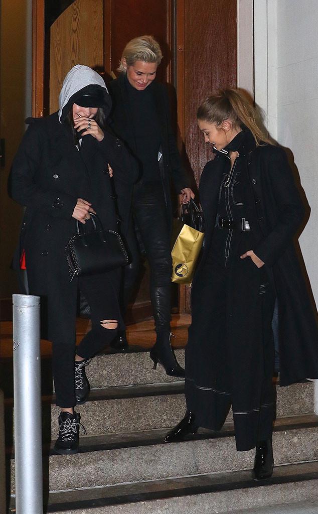 Bella Hadid, Yolanda Foster, Gigi Hadid