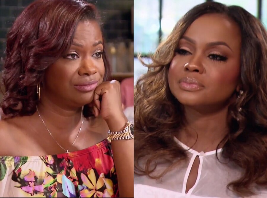 Real Housewives of Atlanta, Phaedra Parks, Kandi Burruss