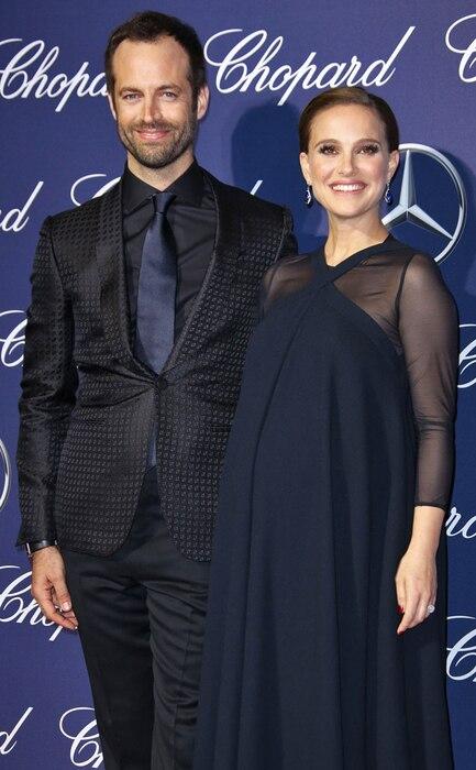 Natalie Portman, Benjamin Millepied, Palm Springs International Film Festival