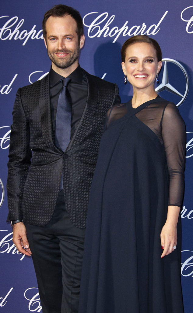 Natalie Portman, Benjamin Millepied, Palm Springs International Film Festival