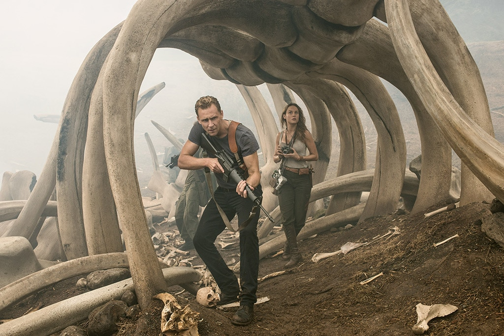 Tom Hiddleston, Brie Larson, Kong Skull Island