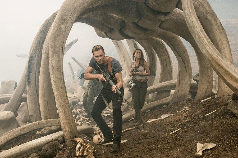 Tom Hiddleston, Brie Larson, Kong Skull Island