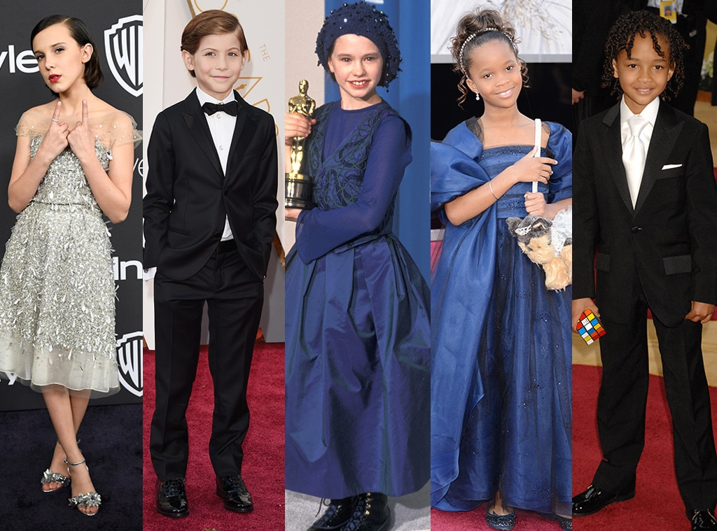 Kid Actors, Award Shows, Millie Bobby Brown, Jacob Tremblay, Anna Paquin, Quvenzhané Wallis, Jaden Smith