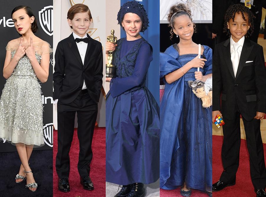 Kid Actors, Award Shows, Millie Bobby Brown, Jacob Tremblay, Anna Paquin, Quvenzhané Wallis, Jaden Smith