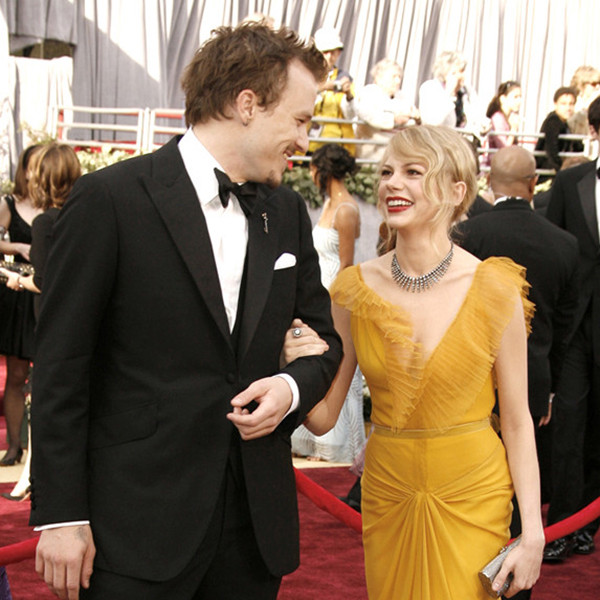 Oscar Couples, Heath Ledger, Michelle Williams
